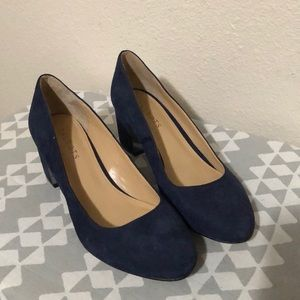 Talbots suede heels